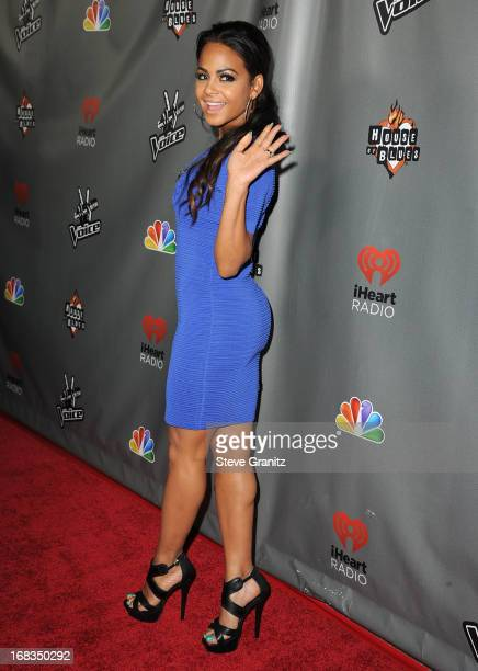 Christina Milian arrives at the NBC's The Voice Season 4 Premiere at House of Blues Sunset Strip on May 8 2013 in West Hollywood California