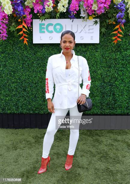 Christina Milian attends Debbie Durkin's EcoLuxe Lounge TV Awards at The Beverly Hilton Hotel on September 20 2019 in Beverly Hills California