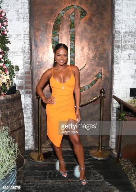 Christina Milian attends DJ Khaled 'Grateful' Platinum Celebration on August 25 2017 in Los Angeles California