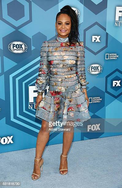 Christina Milian attends FOX 2016 Upfront Arrivals at Wollman Rink Central Park on May 16 2016 in New York City