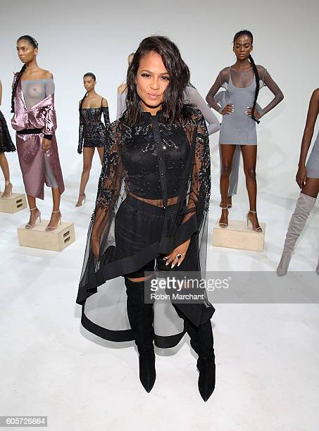 Christina Milian attends Laquan Smith Presentation September 2016 during New York Fashion Week on September 14 2016 in New York City