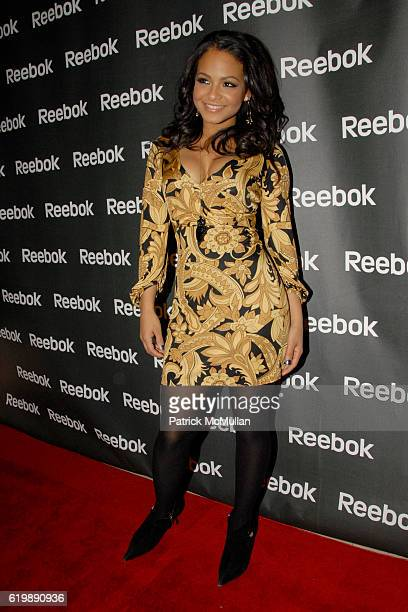 Christina Milian attends REEBOK 2008 FREESTYLE WORLD TOUR at 632 on Hudson on February 21 2008 in New York City