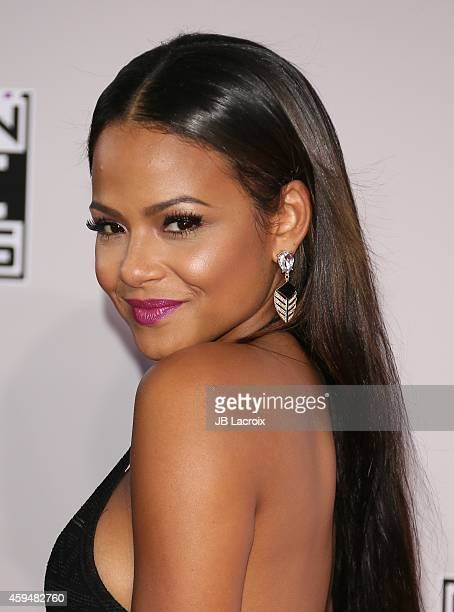 Christina Milian attends the 2014 American Music Awards at Nokia Theatre L.A. Live on November 23, 2014 in Los Angeles, California.