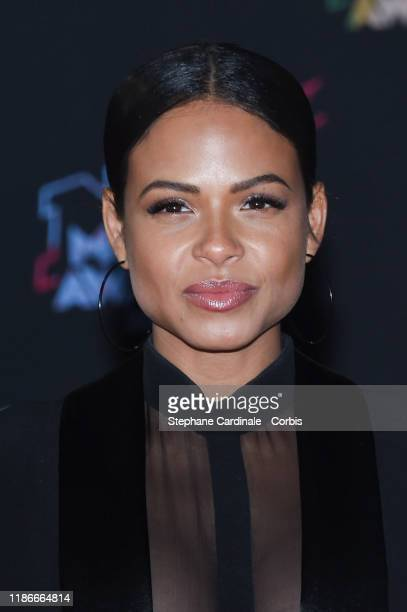 Christina Milian attends the 21st NRJ Music Awards At Palais des Festivals on November 09, 2019 in Cannes, France.