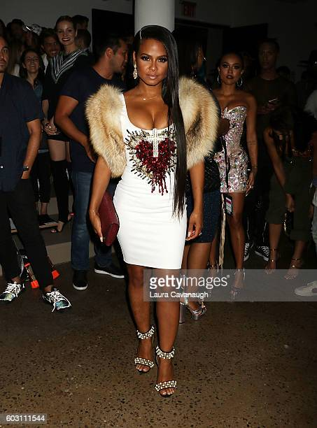 Christina Milian attends The Blonds September 2016 New York Fashion Week at Milk Studios on September 11 2016 in New York City
