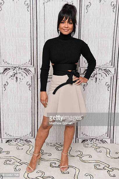Christina Milian attends The Build Series Presents Victoria Justice Christina Milian discussing The Rocky Horror Picture Show Let's Do the Time Warp...
