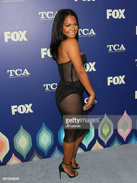 Christina Milian attends the FOX Summer TCA Press Tour on August 8 2016 in Los Angeles California