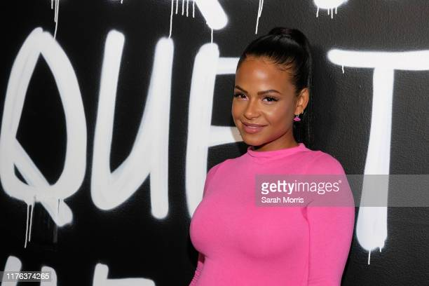 Christina Milian attends The HairTique presented by Phil On Hair at Goya Studios on September 21 2019 in Los Angeles California