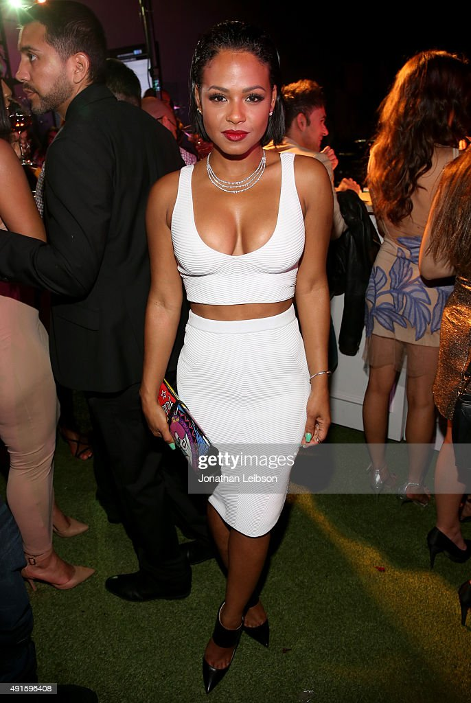 Christina Milian attends the Latina 'Hot List' Party hosted by Latina Media Ventures at The London West Hollywood on October 6, 2015 in West Hollywood, California.