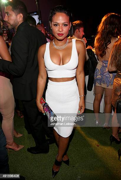 """Christina Milian attends the Latina """"Hot List"""" Party hosted by Latina Media Ventures at The London West Hollywood on October 6, 2015 in West..."""