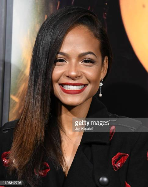 Christina Milian attends the premiere of Columbia Pictures' Miss Bala at Regal LA Live Stadium 14 on January 30 2019 in Los Angeles California