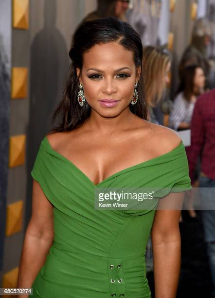 Christina Milian attends the premiere of Warner Bros Pictures' 'King Arthur Legend Of The Sword' at TCL Chinese Theatre on May 8 2017 in Hollywood...