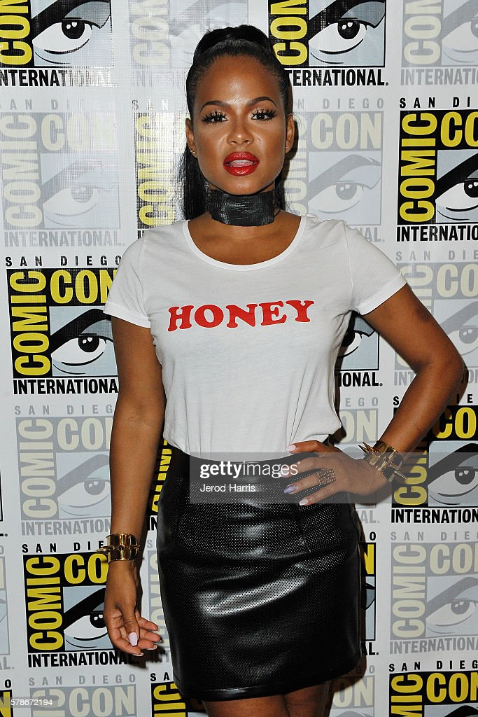 Christina Milian attends the press line for 'Rocky Horror Picture Show' on July 21, 2016 in San Diego, California.
