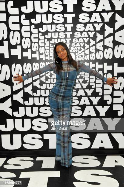 Christina Milian attends Weedmaps Museum Of Weed exclusive preview event on August 01 2019 in Los Angeles California