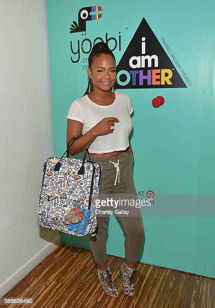 Christina Milian celebrates Yoobi x i am OTHER Presented by Pharrell Williams a limitededition collection that gives back to US classrooms in need on...