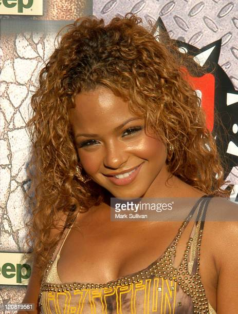 Christina Milian during 2005 GPhoria Videogame Awards Arrivals at Los Angeles Center Studios in Los Angeles California United States