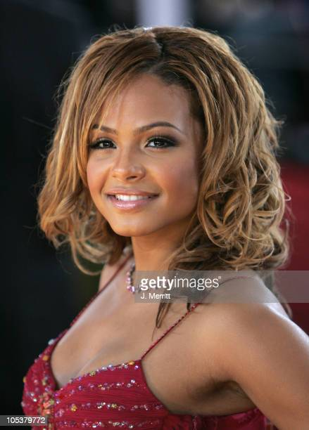 Christina Milian during 31st Annual People's Choice Awards Arrivals at Pasadena Civic Auditorium in Pasadena California United States