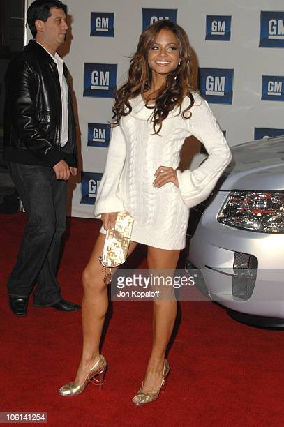 Christina Milian during 6th Annual General Motors TEN Arrivals at Paramount Studios in Hollywood California United States