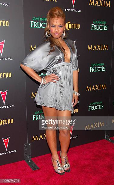 Christina Milian during 7th Annual Maxim Hot 100 Party at Buddha Bar in New York City New York United States
