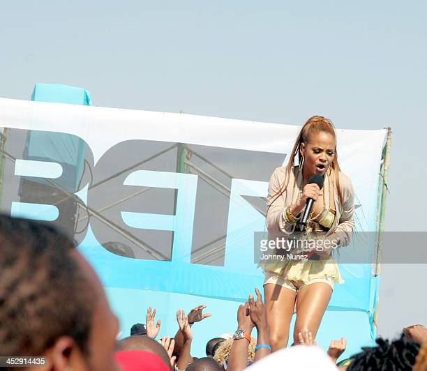Christina Milian during BET Spring Bling 2006 Day 2 Backstage at Haulover Beach Park in Miami Florida United States