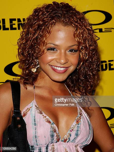 Christina Milian during Blender/Oakley X Games Party - Arrivals at The Key Club in Los Angeles, California, United States.