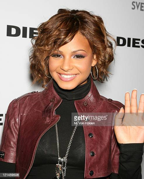 Christina Milian during Diesel Union Square Store ReOpening Party at Diesel Union Square in New York City New York United States