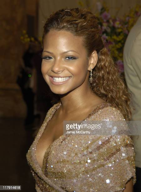 Christina Milian during Mariah Carey Celebrates the Release of Her Album 'The Emancipation of Mimi' and its Debut at at Cipriani in New York City New...