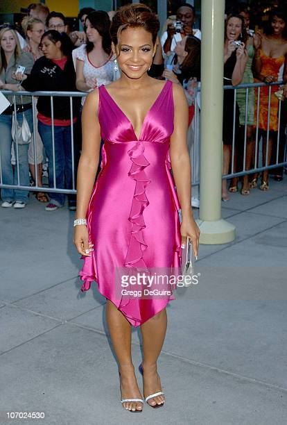 Christina Milian during Pulse Los Angeles Premiere Arrivals at ArcLight Cinemas in Hollywood California United States