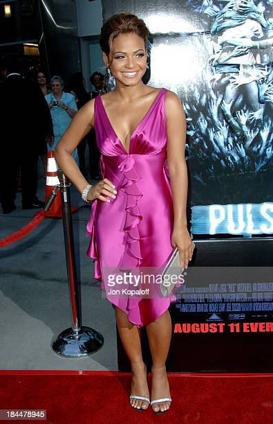 "Christina Milian during ""Pulse"" Los Angeles Premiere - Arrivals at ArcLight Theater in Hollywood, California, United States."