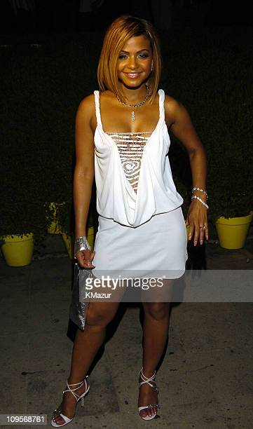 Christina Milian during The Usher Motorola Party at Shore Club in Miami Florida United States