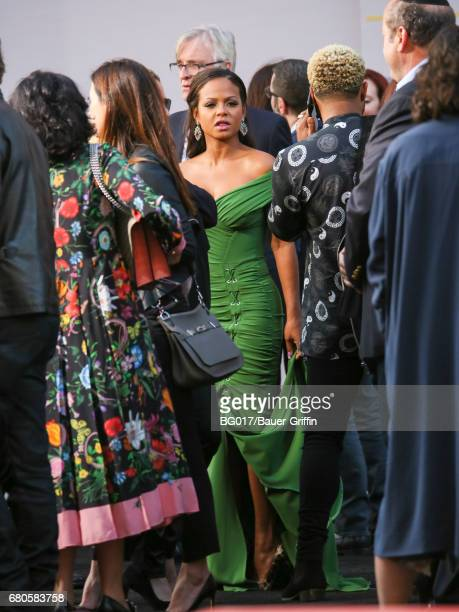 Christina Milian is seen attending world premiere of Warner Bros Pictures' 'King Arthur Legend Of The Sword' at TCL Chinese Theatre on May 08 2017 in...