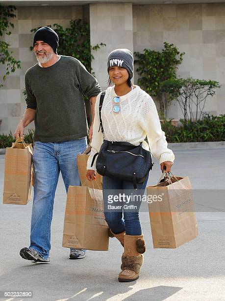 Christina Milian is seen on December 21 2015 in Los Angeles California