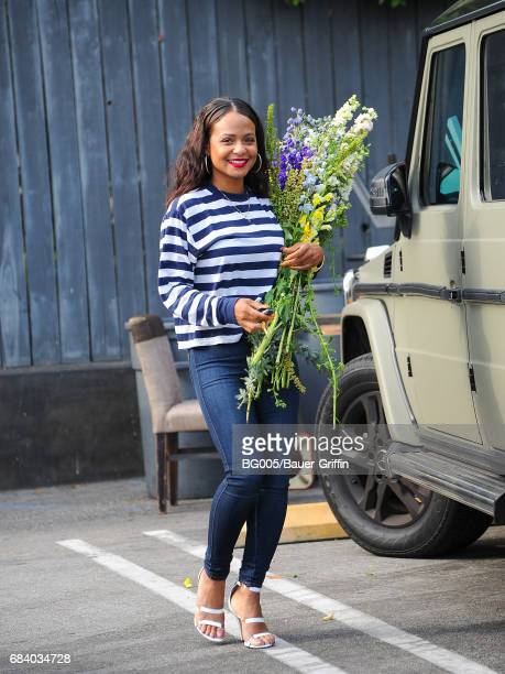 Christina Milian is seen on May 15, 2017 in Los Angeles, California.