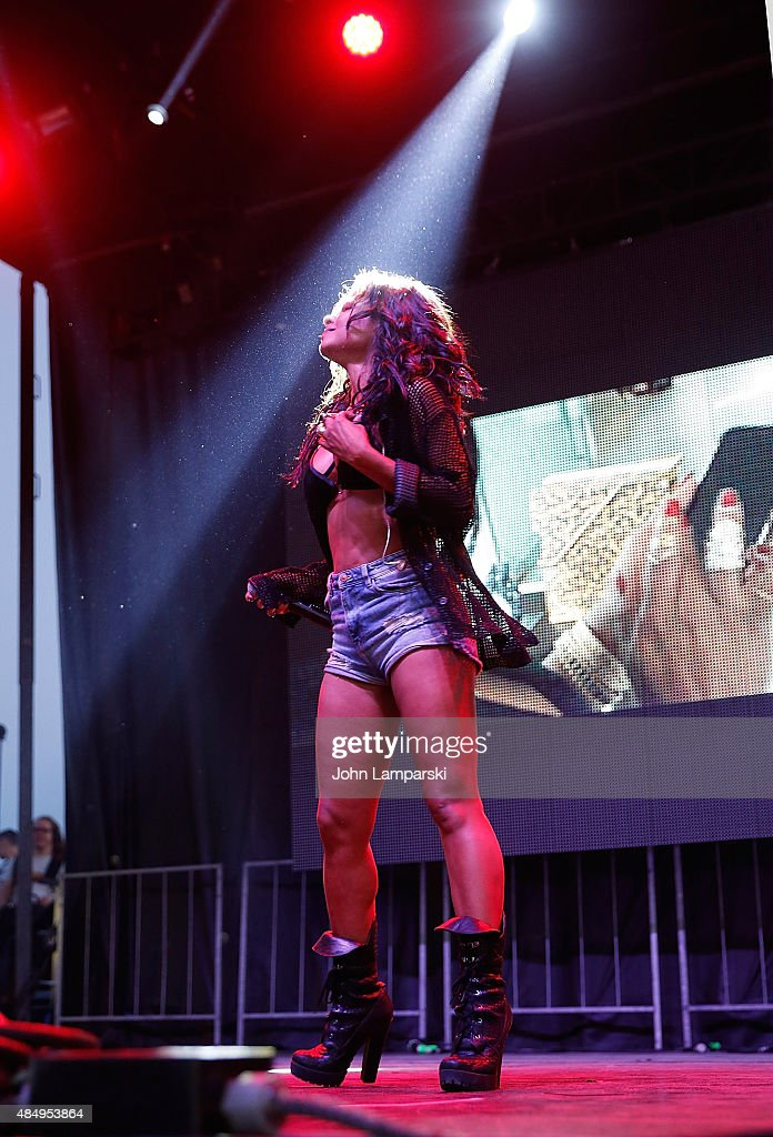 Christina Milian performs at 2015 Billboard Hot 100 Music Festival - Day 1 at Nikon at Jones Beach Theater on August 22, 2015 in Wantagh, New York.