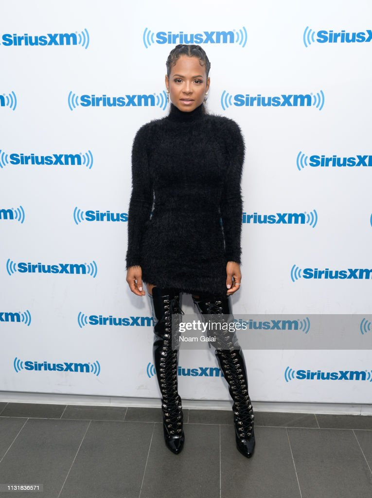 NY: Celebrities Visit SiriusXM - March 21, 2019