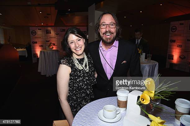 Christina Miller President at GM Cartoon Network Adult Swim Boomerang TBS Inc and television writer Michael Ouweleen attend attends the Turner...