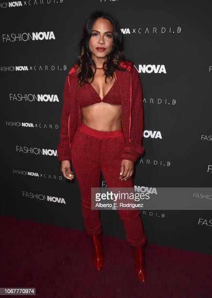 Christina Millian attends the Fashion Nova x Cardi B Collaboration Launch Event at Boulevard3 on November 14 2018 in Hollywood California