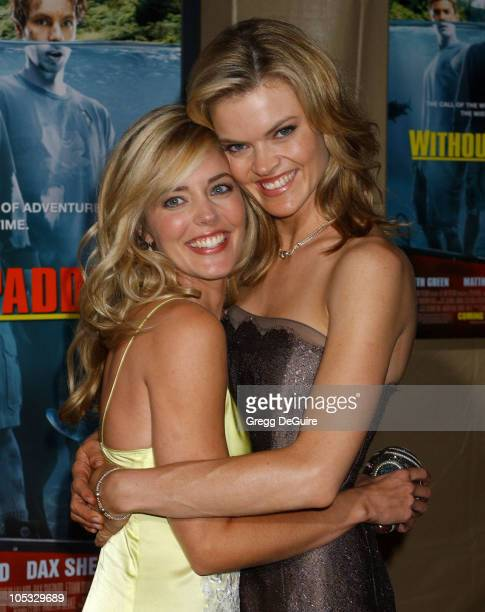Christina Moore and Missi Pyle during Without A Paddle Los Angeles Premiere Arrivals at Paramount Studios in Los Angeles California United States