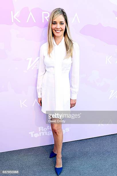 Christina Moore arrives at Variety's Celebratory Brunch Event For Awards Nominees Benefiting Motion Picture Television Fund at Cecconi's on January...