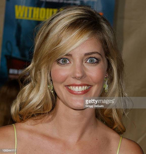 Christina Moore during Without A Paddle Los Angeles Premiere Arrivals at Paramount Studios in Los Angeles California United States