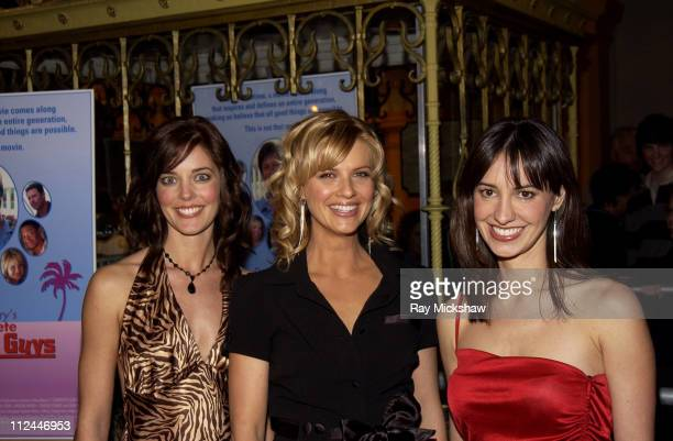 Christina Moore Megan Ward and Charlene Amoia during 20th Annual Santa Barbara International Film Festival Dave Barry's Complete Guide To Guys at...