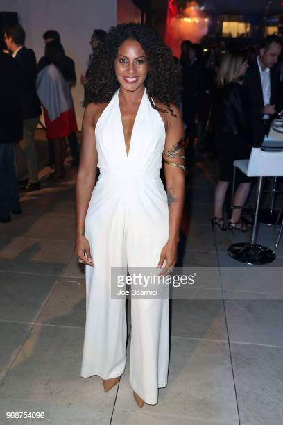 Christina Moses attends the ATT AUDIENCE Network Premiere of CONDOR at NeueHouse Hollywood on June 6 2018 in Los Angeles California