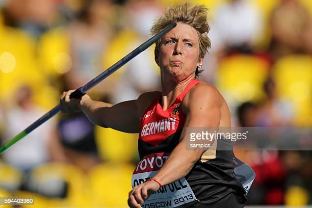 Christina Obergföll Obergfroell GER Speerwerfen Javelin THrow Leichtathletik WM Weltmeisterschaft Moskau 2013 IAAF World Championships athletics...