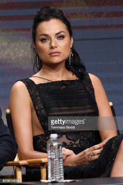 Christina Ochoa attends the 2017 Summer TCA Tour CW Panels at The Beverly Hilton Hotel on August 2 2017 in Beverly Hills California