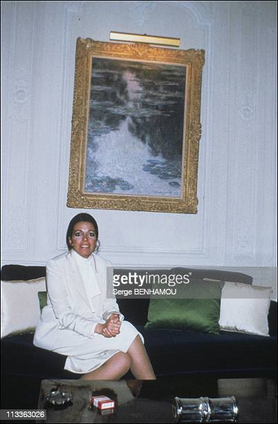 Christina Onassis And Her Daughter Athina OnassisRoussel On November 3Rd 2005 In France Here Christina Onassis