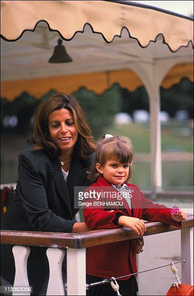 Christina Onassis And Her Daughter Athina OnassisRoussel On November 3Rd 2005 In France Here 1988