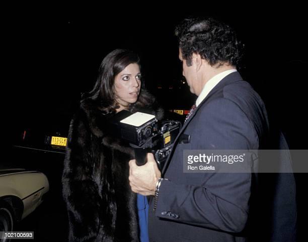 Christina Onassis and Ron Galella