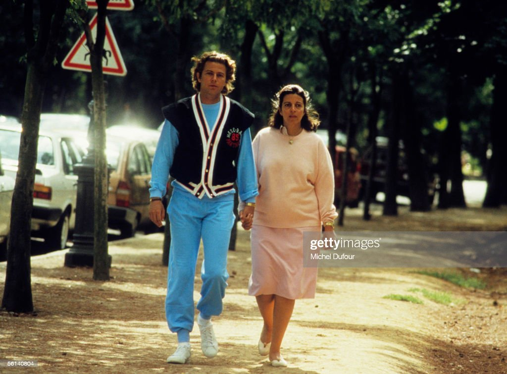 Christina Onassis Daughter Of Greek Shipping Magnet Aristotle Takes An Afternoon Stroll With