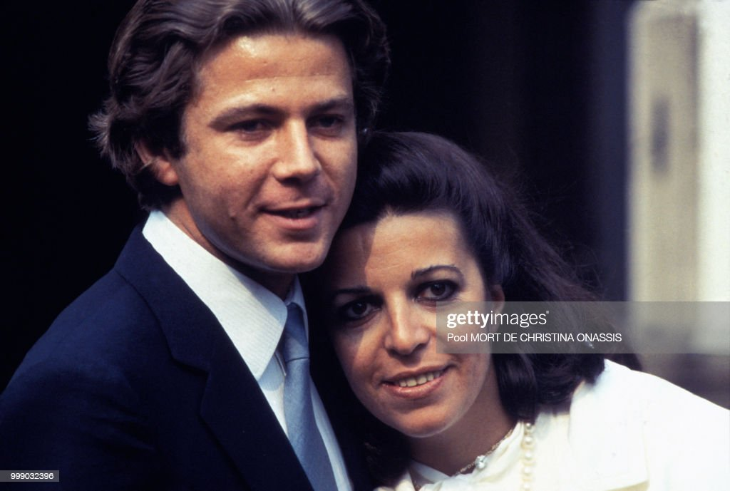 Christina Onassis et Thierry Roussel : News Photo
