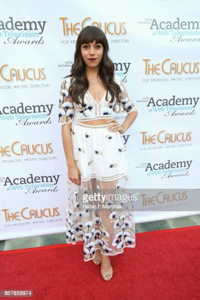 Christina Paterno attends the 5th Annual International Academy of Web Television Awards at Skirball Cultural Center on October 4 2017 in Los Angeles...